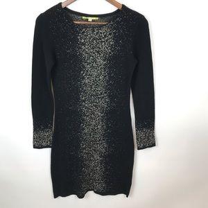 Giani Bini lightweight shimmery sweater dress